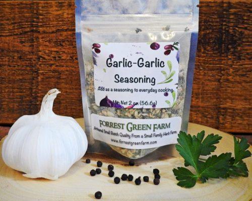 Garlic-Garlic Zucchini Fries